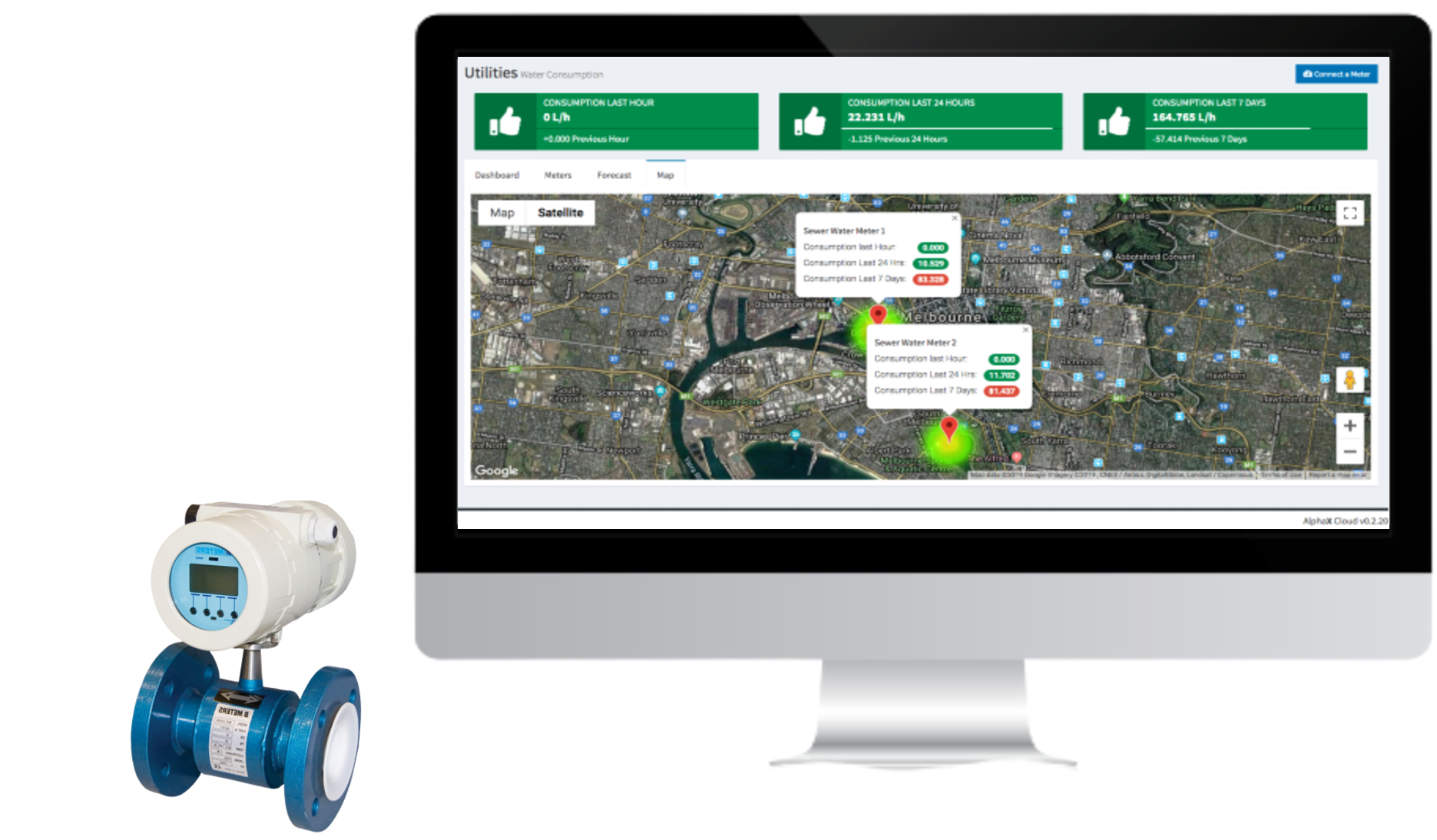Utility Management System provides you with the live feed and useful insights.